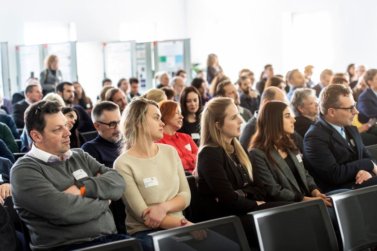 Audience at EPNA award ceremony 2019
