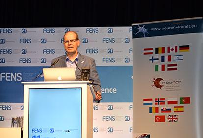 Eero Castren at FENS FORUM 2018