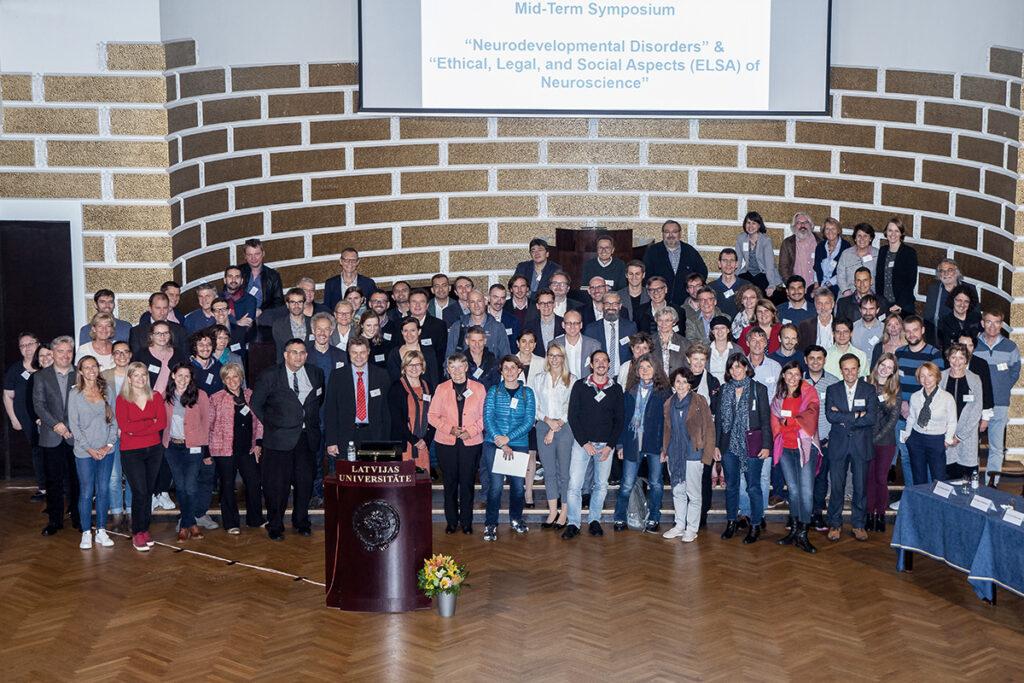 ERA-NET NEURON Midterm symposium group picture