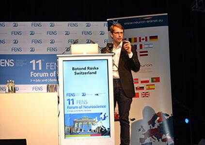 Botond Roska at FENS Forum 2018