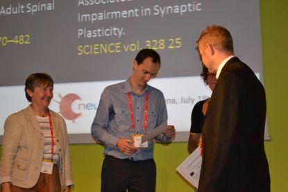 From left to right: Marlies Dorloechter, Fernando Kasanetz, Fanie Barnabé-Heider and Erkki Raulo