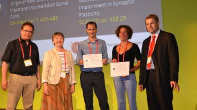 Link to 'The ERA-NET NEURON EPNA 2011 Award and special lecture at the 8th FENS FORUM of Neuroscience in Barcelona, Spain | 2012'
