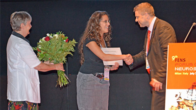 Link to 'The ERA-NET NEURON EPNA 2013 Award and special lecture at the FENS Forum in Milan, Italy | 2014'