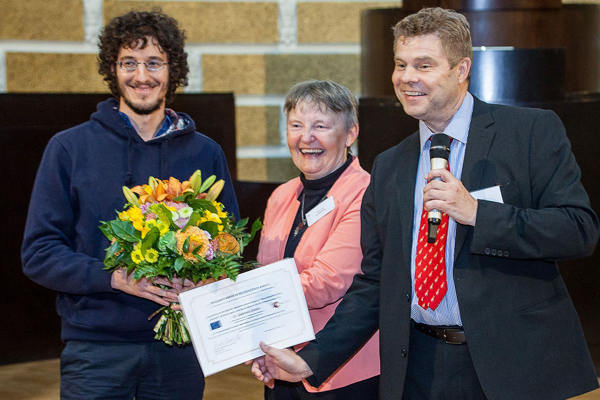 EPNA Awardee 2016 Dr. Gabriele Deidda, Dr. Marlies Dorlöchter and Erkki Raulo