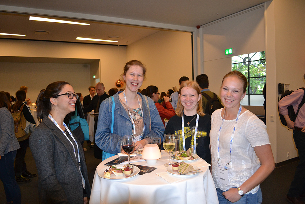 Networking at FENS FORUM 2016