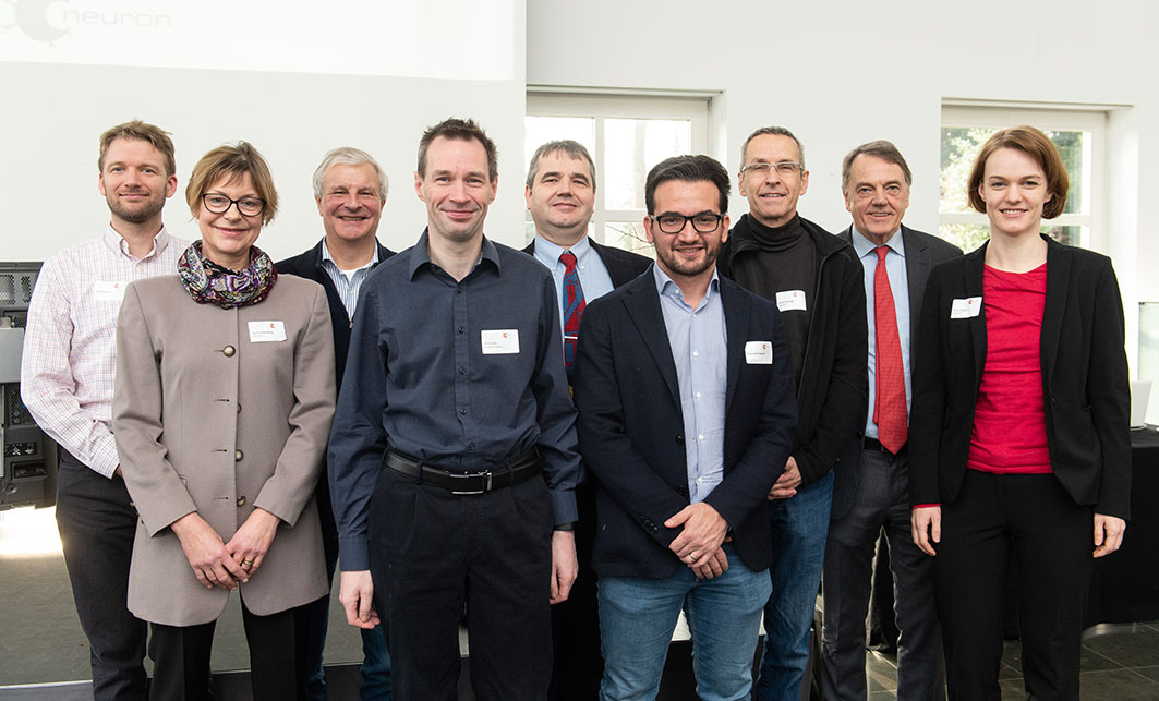 Group photo of brain research stakeholders at Workshop in January 2019